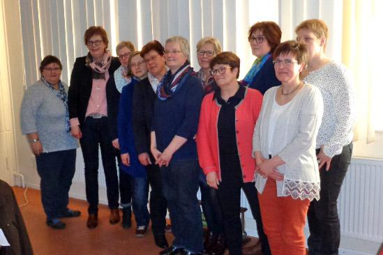 Landfrauen Wittingen - Vorstand