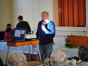 Landfrauen Wittingen - Jahreshauptversammlung 2019 - Referent Becker