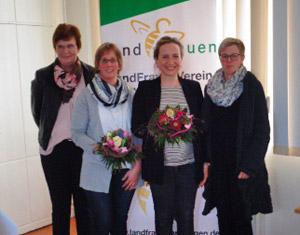 Landfrauen Wittingen - Jahreshauptversammlung 2019 - neu im Vorstand