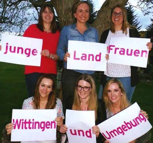 Junge Landfrauen Wittingen - Orga-Team