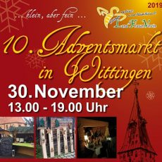 10. Adventsmarkt in Wittingen am 30.11.2019