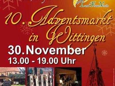10. Adventsmarkt in Wittingen am 30.11.2019
